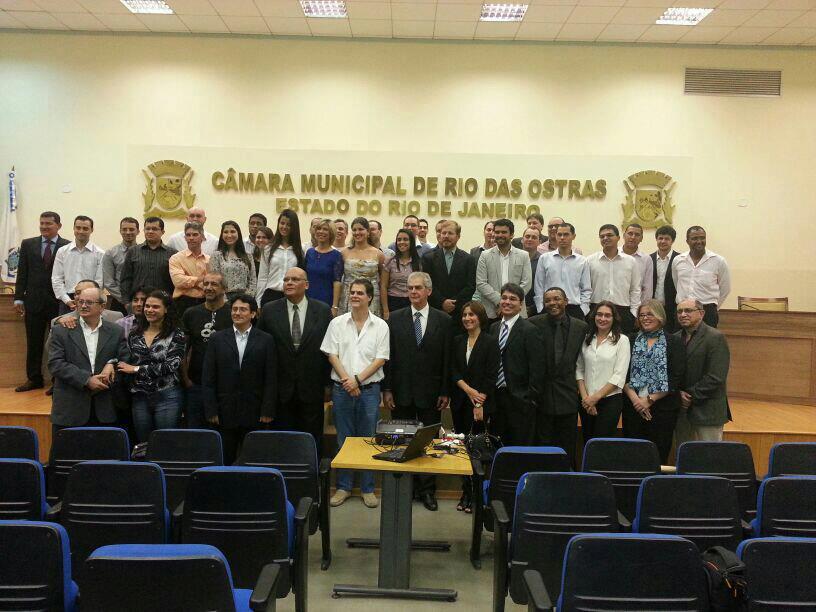 Aula Inaugural do MESC - março/2013